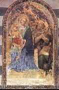 Gentile da Fabriano Madonna with the Child oil painting artist