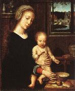 The Virgin with the Bowl of Milk