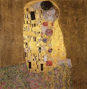 The Kiss, Gustav Klimt