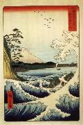 Hiroshige, Ando Fuji from the Gulf of Suruga oil painting reproduction