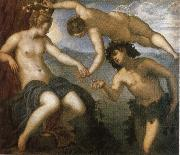 Jacopo Tintoretto Bacchus and Ariadne oil painting reproduction