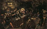 Jacopo Tintoretto Last Supper oil painting reproduction