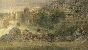 Details of The Music-Party, Jean-Antoine Watteau