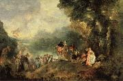 Embarkation from Cythera, Jean-Antoine Watteau