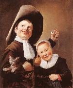Judith leyster A Boy and a Girl with a Cat and an Eel oil painting