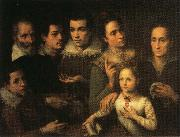 Lavinia Fontana Family Portrait oil painting