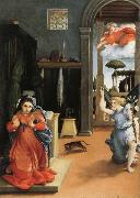 Annunciation, Lorenzo Lotto
