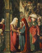 Meeting of Mary and Elisabeth, Marx Reichlich