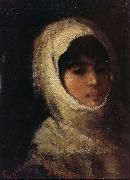 Girl with White Veil