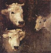 Nicolae Grigorescu Oxen oil painting reproduction