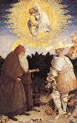 The Virgin and Child with St. George and St. Anthony the Abbot, PISANELLO