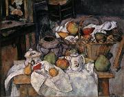 Paul Cezanne Still Life with Basket