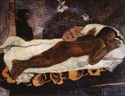 Paul Gauguin The Spirit of the Dead Watching oil painting reproduction