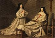 Mother Catherine Agnes and Sister Catherine Sainte-Suzanne, Philippe de Champaigne