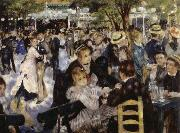 Pierre-Auguste Renoir Dance at the Moulin de la Galette oil painting on canvas