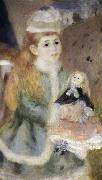 Details of Mother and children, Pierre-Auguste Renoir