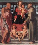Madonna and Child with Two Saints, Pontormo, Jacopo