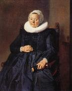 RIJCKHALS, Frans Portrait of a woman oil painting reproduction