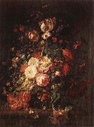 RUYSCH, Rachel Flowers and Fruit oil painting