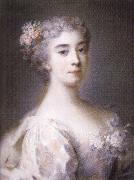 Rosalba carriera Portrait of Anna Sofia Enrichetta of Modena oil painting