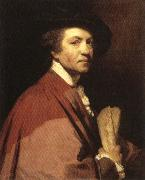 Sir Joshua Reynolds Self-Portrait oil painting reproduction