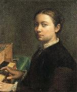 Sofonisba Anguissola Self-Portrait at the Spinet