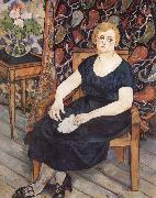 Suzanne Valadon Madame Levy oil painting