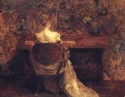 Thomas Wilmer Dewing The Spinet oil painting