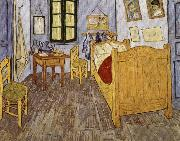 The Artist's Room in Arles, Vincent Van Gogh