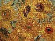 Vincent Van Gogh Sunflowers oil painting reproduction
