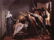 Weerts Jean Joseph l'Assassinat de Marat oil painting