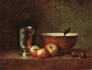 jean-Baptiste-Simeon Chardin Still Life oil painting reproduction