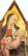 Ambrogio Lorenzetti Nursing Madonna oil painting reproduction
