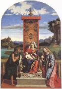 The Virgin and Child between John the Baptist and Mary Magdalen (mk05)