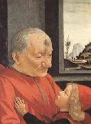 Portrait of an Old Man with a Young Boy (mk05), Domenico Ghirlandaio