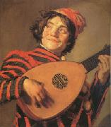 Jester with a Lute (mk05), Frans Hals