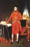 Napoleon Bonaparte in the Uniform of the First Consul (mk04), Jean Auguste Dominique Ingres