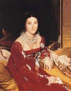 Portrait of Marie Marcoz,later Vicomtesse de Senonnes (mk04), Jean Auguste Dominique Ingres