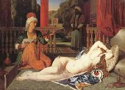 Oadlisque with Female Slave (mk04), Jean Auguste Dominique Ingres