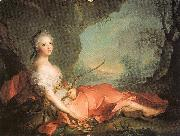 Jean Marc Nattier Marie-Adlaide of France as Diana