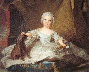 Jean Marc Nattier Marie Zephyrine of France as a Baby oil painting reproduction
