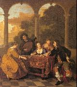 Musical Party on a Terrace