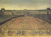 Louis XIV s Grande Carrousel (mk05) oil painting