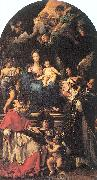 Madonna and Child Enthroned with Angels and Saints, Maratta, Carlo