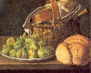 Still-Life with Figs, Melendez, Luis Eugenio