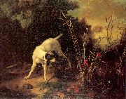 A Dog on a Stand, OUDRY, Jean-Baptiste