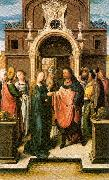 Orlandi, Deodato The Marriage of the Virgin oil painting