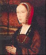 PROVOST, Jan Portrait of a Female Donor oil painting