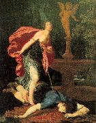 Pagani, Gregorio Pyramus and Thisbe oil painting reproduction
