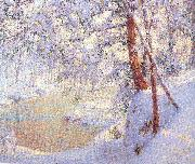 Palmer, Walter Launt Winter Light and Shadows oil painting